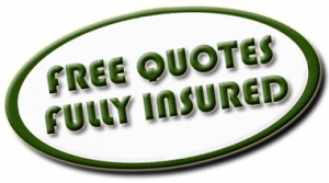 Free Quotes and fully insured
